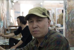 Dafen artist in a studio.