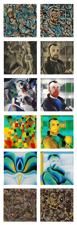 AI Deep Neural Network Painter - Instapainting